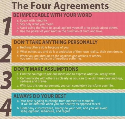 The Four Agreements for a Better Life