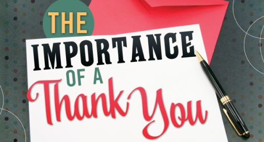 The Importance of a Thank You