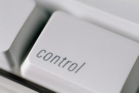 Control Key on Computer Keyboard